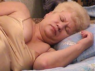 Granny Margo with short hair missionary throbbed hardcore