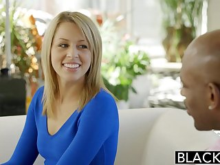 hot blonde Zoey Monroe interracial sex