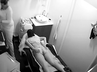 Hidden Spy Cam - Russian Beaty Salon - Pussy Depilation 01