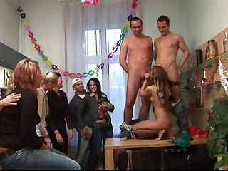 Intimacy As A Birthday Gift - Group Amateur