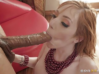 Lauren Phillips twerks in a dress before a fuck and a facial