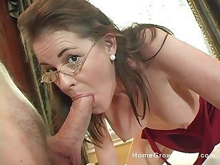 Mommy gets serious when it comes to cock