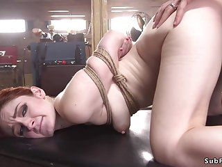 Redhead anal sex pounded by neighbor bdsm