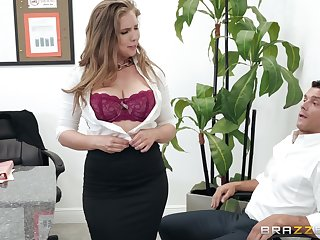 Lena Paul adores when her boyfriend cum in her mouth after a blowjob