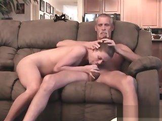 Dad and Teen Hidden Cam