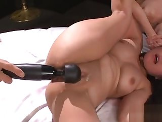 Naughty and lusty asian anal play