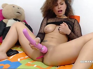 Homemade Scene With A Pretty Good Curly Chick