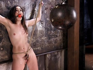 Sweet Juliette March gets tied up and punished by a stranger