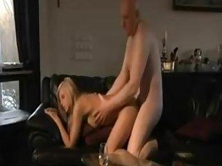 Grandpa Fucks A Teenie - hardcore porn video