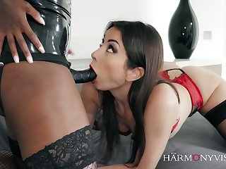 Hot Kayla Carrera is fond of facesitting during sensual lesbian session