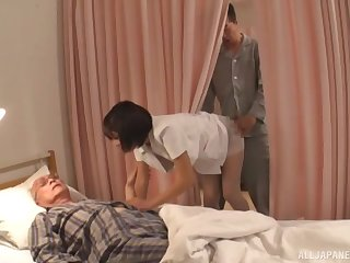 Sex from behind is the favorite sex pose of passionate Harusaki Ryou