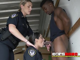Doggy-Style for this slutty big titty cop