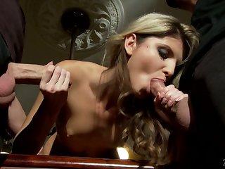 Before brutal ass fucking bitch from Russia Gina Gerson wanna suck dicks