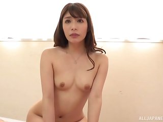 Japanese fake casting agent gets a chance to fuck a stunning girl