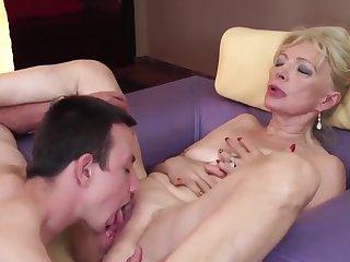 Mature and boy sex