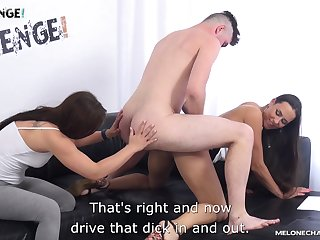 Lecherous Czech milf Mea Melone is fucking one young dude