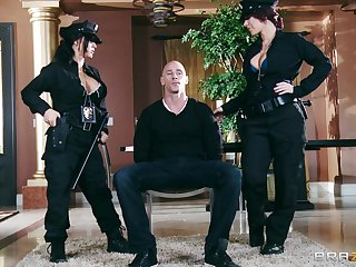 Kinky FFM threesome sex with Jayden James and Jenna Presley