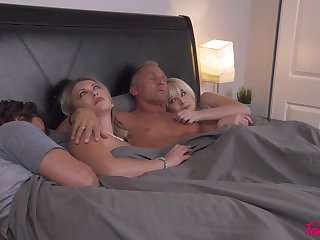 No one really knows how two couples ended up fucking in the same bed and swapping partners