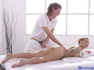 Posh Blonde MILF from Down Under Massaged