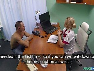 Sex prescribed by hot nurse